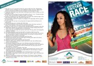 1. The race is run in accordance with - Alberton Athletic Club