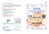 Guide, De nye ATEX direktiver - 2. udgave 2010 ... - f.metal-supply.dk