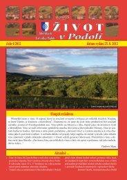 podolí 4-2012.indd - Obec Podolí