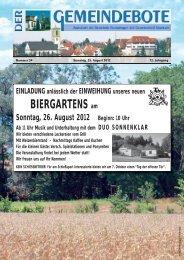 Ausgabe :Gomaringen 25.08.12.pdf - Gomaringer Verlag