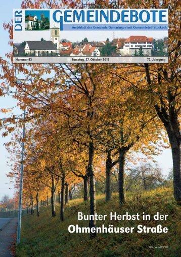 Gomaringen 27.10.12.pdf - Gomaringer Verlag
