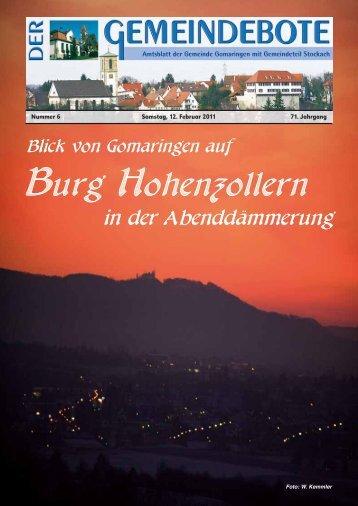 Gomaringen 12.02.11.pdf - Gomaringer Verlag