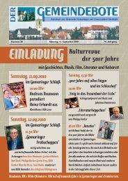 Ausgabe :Gomaringen 11.09.10.pdf - Gomaringer Verlag