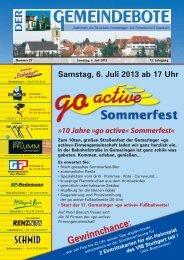 Gomaringen 06.07.13.pdf - Gomaringer Verlag