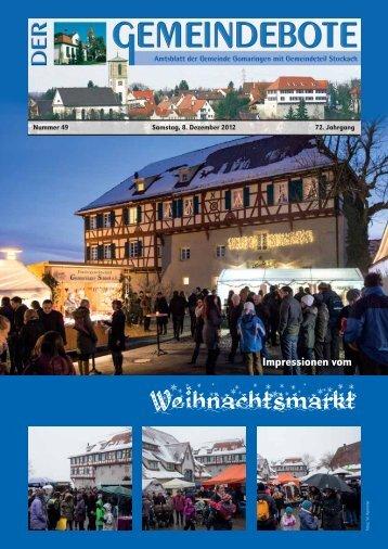 Ausgabe :Gomaringen 08.12.12.pdf - Gomaringer Verlag