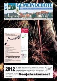 Ausgabe :Gomaringen 07.01.12.pdf - Gomaringer Verlag