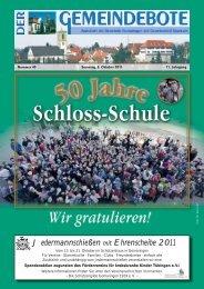 Ausgabe :Gomaringen 08.10.11.pdf - Gomaringer Verlag