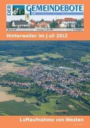 Ausgabe :Gomaringen 21.07.12.pdf - Gomaringer Verlag