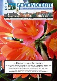 Ausgabe :Gomaringen 16.07.11.pdf - Gomaringer Verlag