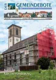 Ausgabe :Gomaringen 18.05.13.pdf - Gomaringer Verlag