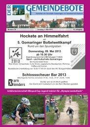 Ausgabe :Gomaringen 04.05.13.pdf - Gomaringer Verlag