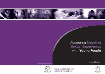 Addressing Negative Sexual Experiences with Young People
