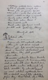 Kronika obce rok 1914