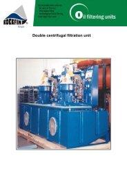 6/F/EN - Double centrifugal filtration unit - Rockfin