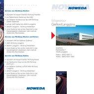 Anfahrt- und Wegeplan zur NOWEDA Giessen/Langgöns zum