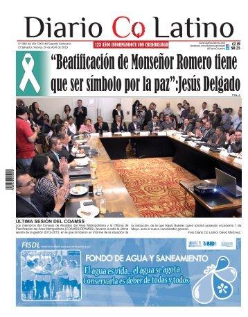 Edición 24 de Abril de 2015