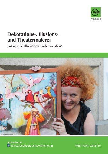 Dekorations- und Illusionsmalerei, Theatermalerei - Ausbildungen im WIFI Wien