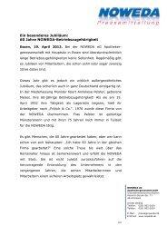 finden Sie die gesamte Pressemitteilung als PDF - Noweda
