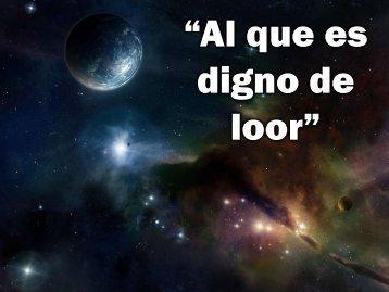Al que es digno de loor.pdf - Editorial La Paz
