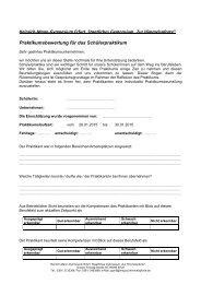 Beurteilung - Heinrich-Mann-Gymnasium
