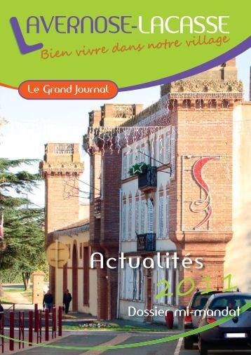 Grand journal 2011 - Ville de Lavernose-Lacasse