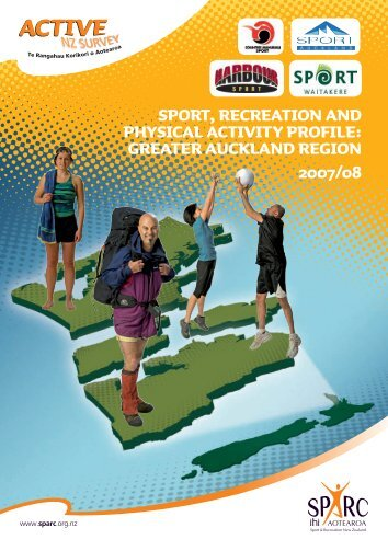 Sport, Recreation and Physical Activity Profile: Greater ... - Active NZ