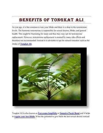 Tongkat Ali And Long Jack