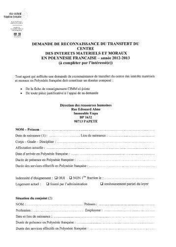 Formulaire de demande de CIMM 2012-2013 - Vice-rectorat de ...