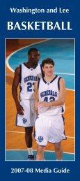 BASKETBALL - Washington & Lee - Washington and Lee University