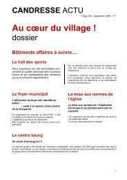 Au cœur du village ! - Grand Dax
