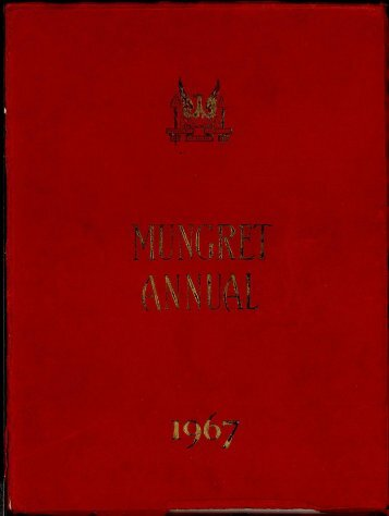 Download the Mungret College Annual 1967 - Mungret College Past ...