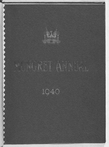 Download the Mungret College Annual 1940 - Mungret College Past ...