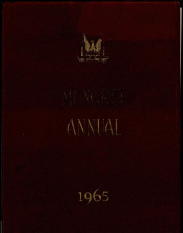 Download the Mungret College Annual 1965 - Mungret College Past ...