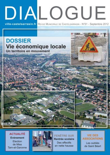 Dialogue N°61 - Ville de Castelsarrasin