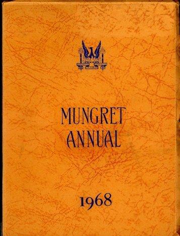 Download the Mungret College Annual 1968 - Mungret College Past ...