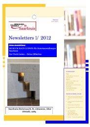 I/2012 - Lokales Bündnis für Familie Saarlouis - WordPress.com