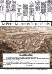 LE PETIT LAUZERTIN ILLUSTRÉ N°55 - Lauzerte