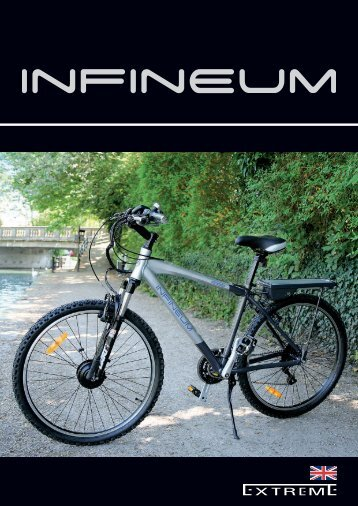 The Extreme LPX is the launch model - Electric Bikes from Infineum