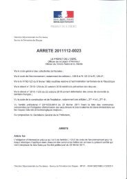 Arrêté prefectoral relatif à l'information des acquéreurs et des ...