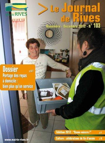 Dossier Dossier - Ville de Rives