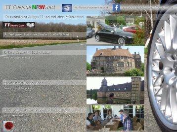 Tour nördlicher RuhrpoTT und südliches Münsterland