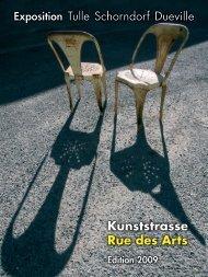 Kunststrasse Rue des Arts - Tulle Culture