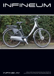 2 year Warranty CONTINENTAL Electric Bike Specifications