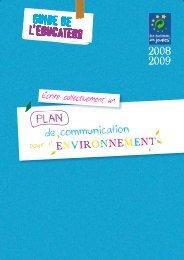 Guide de l'éducateur 2008-2009 - Eco-Parlement des jeunes