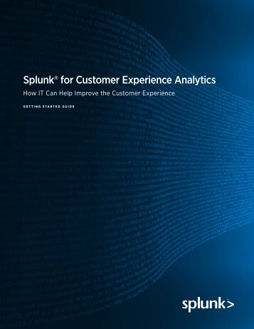 splunk-for-customer-experience-analytics