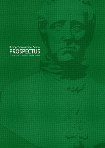 PROSPECTUS - Bishop Thomas Grant School