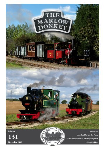 131 - Marlow & District Railway Society