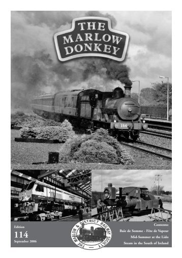 Donkey 114 Sept 06 - Marlow & District Railway Society