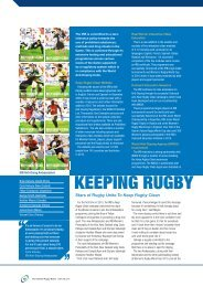 Doping Reports - 2010 - Keep Rugby Clean