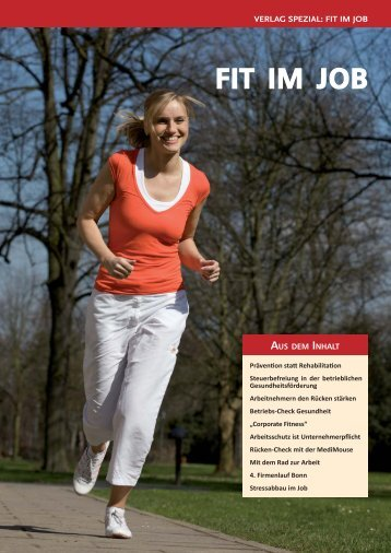 Verlag Spezial fit for job April2010.indd - 6. Firmenlauf Köln